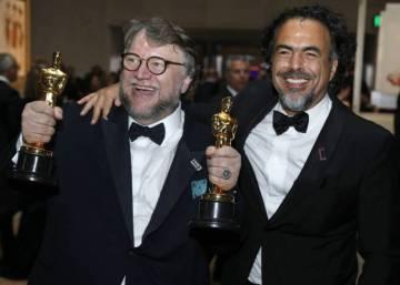 """GANADORES DE OSCARES 90a.EDICIÓN. Iñárritu: """"¡Vamos a hacer un muro de puros Oscars!"""""""