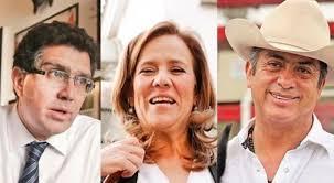 """ZAVALA """"DE PANZASO"""" REGISTRO ANTE INE.Rios Pitter Fuera y Bronco está en veremos"""