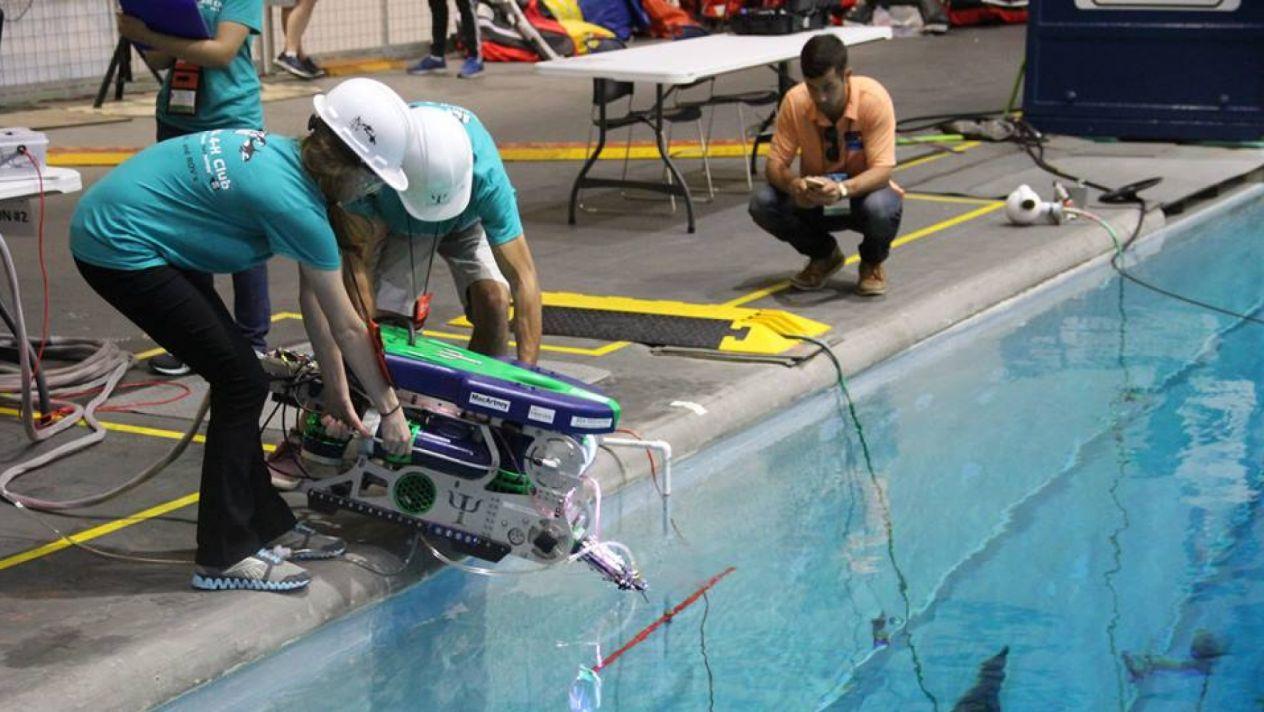 ROBOT SUMARINO MEXICANO PARTICIPA EN TORNEO DE ESTADOS UNIDOS