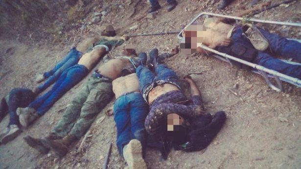 MATANZA EN ZIHUATANEJO,GUERRERO,16 MUERTOS,ENTRE ELLOS SEIS POLICIAS