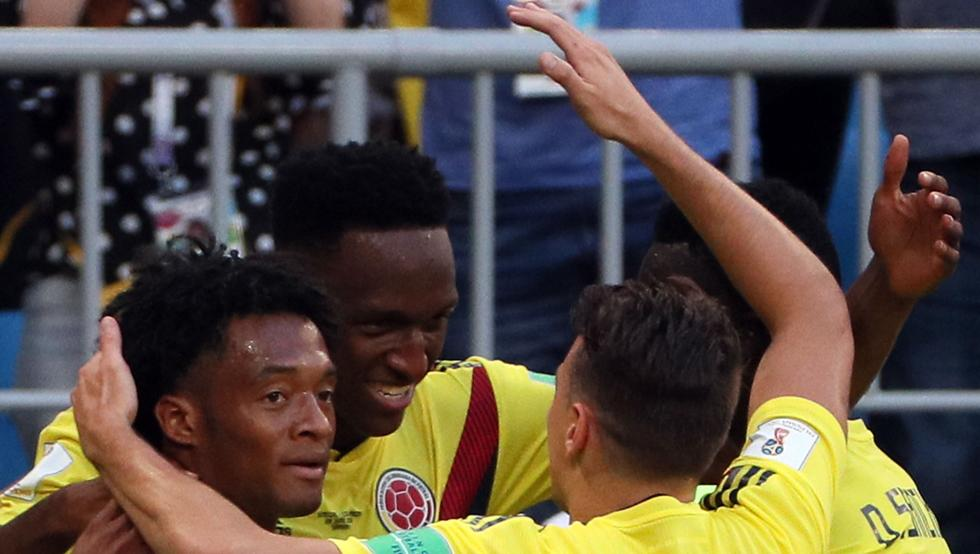 COLOMBIA Y JAPON A OCTAVOS EN MUNDIAL DE FUTBOL RUSIA 2018