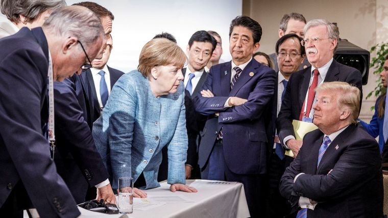 DESAFIA TRUMP A INTEGRANTES DEL G-7
