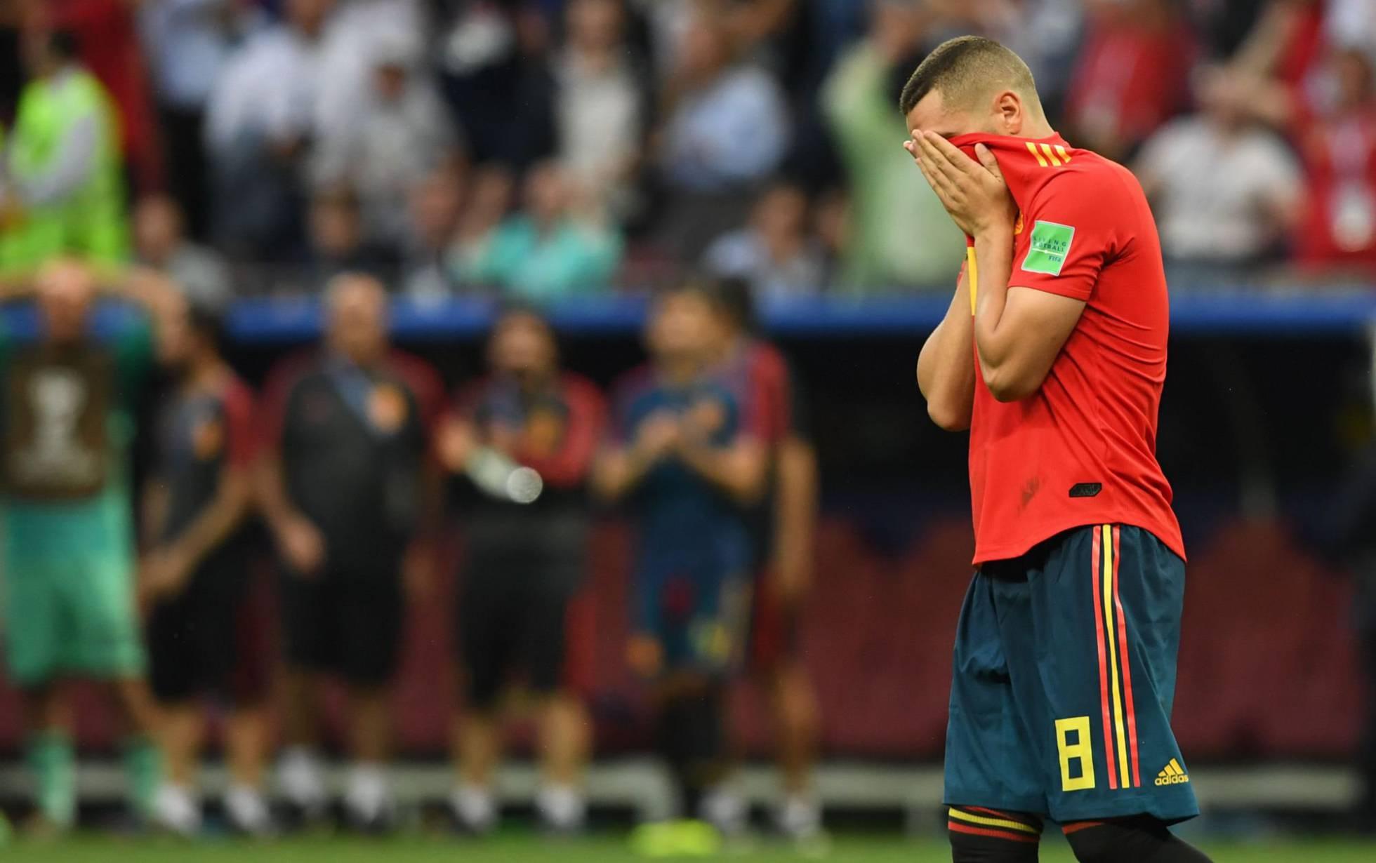 RUSIA ELIMINA A ESPAÑA Y CROACIA A DINAMARCA.Mundial de Futbol Rusia 2018