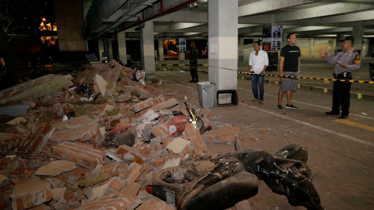 LLEGA A 142 NÚMERO DE MUERTOS POR SISMO DE 7.0 GRADOS  EN INDONESIA