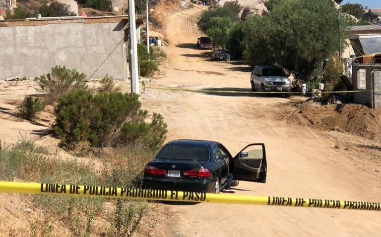 HALLAN TRES HOMBRES MUERTOS EN TECATE.Presentaban lesiones con arma de fuego