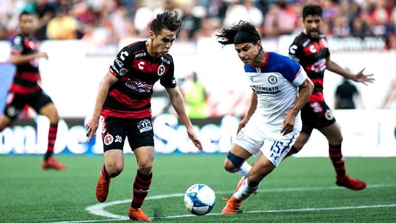 EMPATAN 1-1,TIJUANA Y CRUZ AZUL.Video del gol de Xolos.Entró o no.