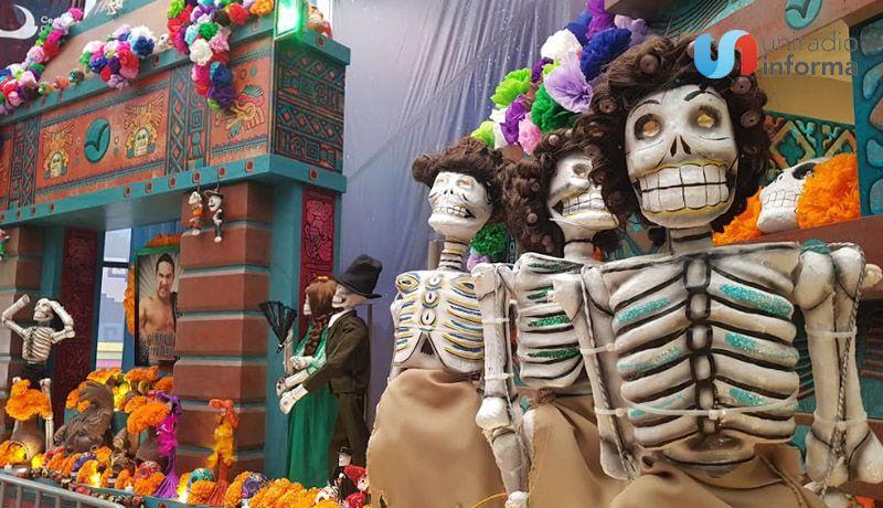 Inauguran Monumental Altar de Muertos en honor a Lucha Libre