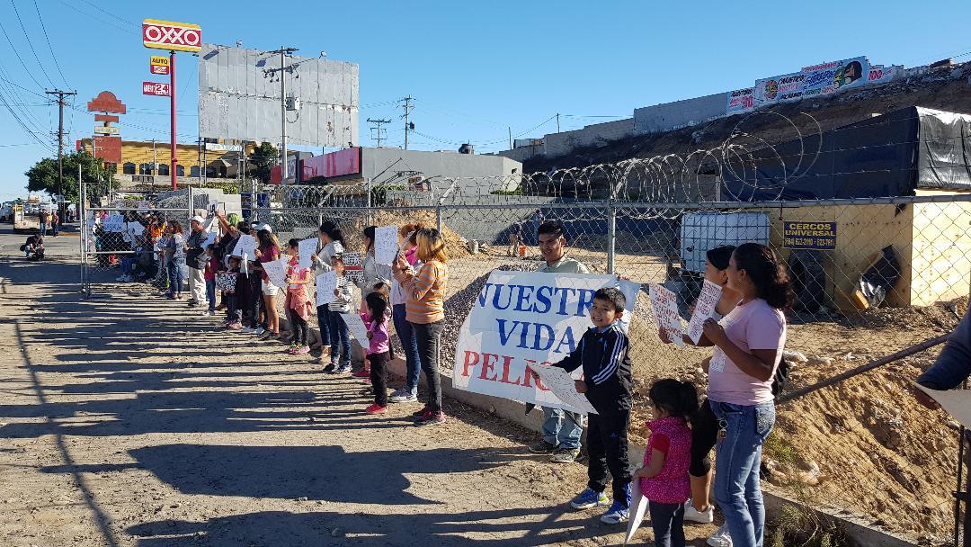 PROTESTAN VECINOS POR NUEVAS GASERAS EN EL RUBI