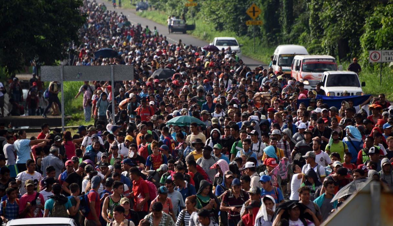 NUESTRO MURO.La caravana migrante. Por Javier Risco