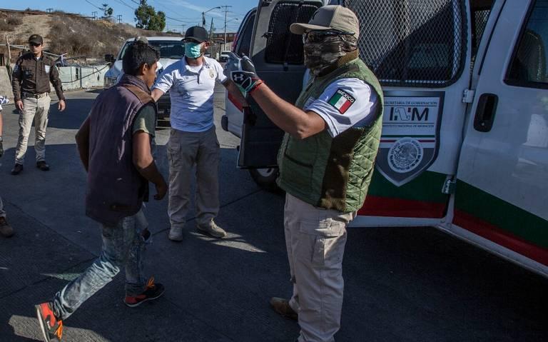 APRESA POLICÍA A 35 MIGRANTES POR HECHOS VIOLENTOS EN FRONTERA.Será deportados informa Gobernación
