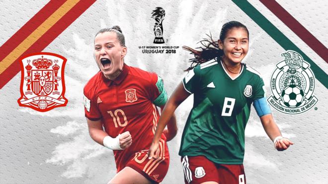 MÉXICO  CAYÓ ANTE ESPAÑA 2-1 EN LA FINAL DEL MUNDIAL DE FUTBOL FEMENIL.Video televisa deportes