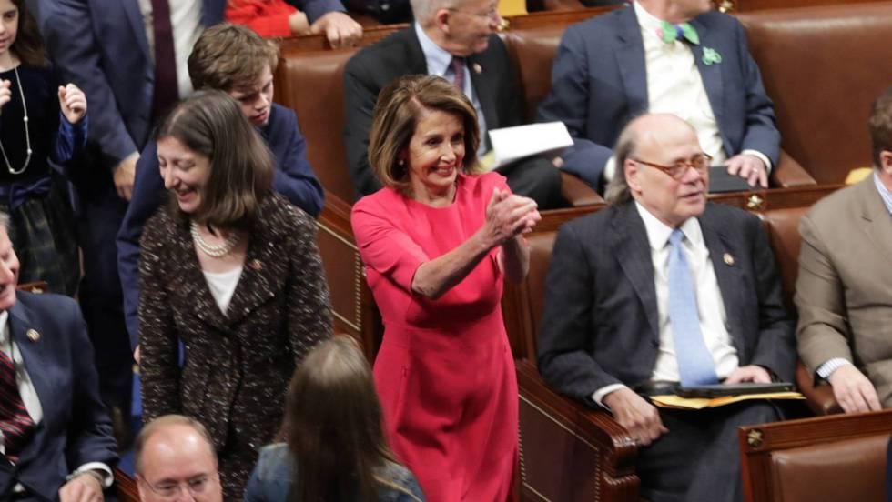 Nancy Pelosi dirigirá el asalto demócrata a Trump desde el nuevo Congreso.