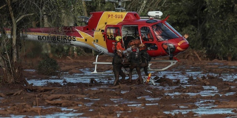 VAN 84 MUERTOS EN BRASIL POR RUPTURA DE REPRESA Y HAY 276 DESAPARECIDOS