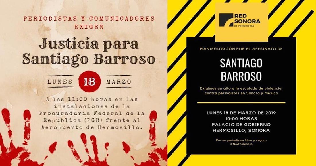 CONVOCAN A MANIFESTACIÓN ESTE LUNES POR ASESINATO DE PERIODISTA EN S.LUIS RIO C.