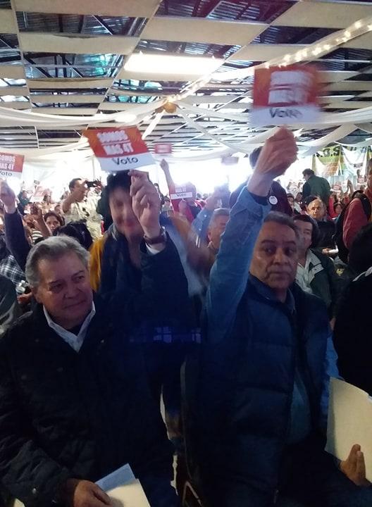 ENCABEZA MARTINEZ VELOZ Y PEÑA MOVIMIENTO AMPLIO SOCIAL(MAS4T) Para proceso Electoral  del 02 d ejunio