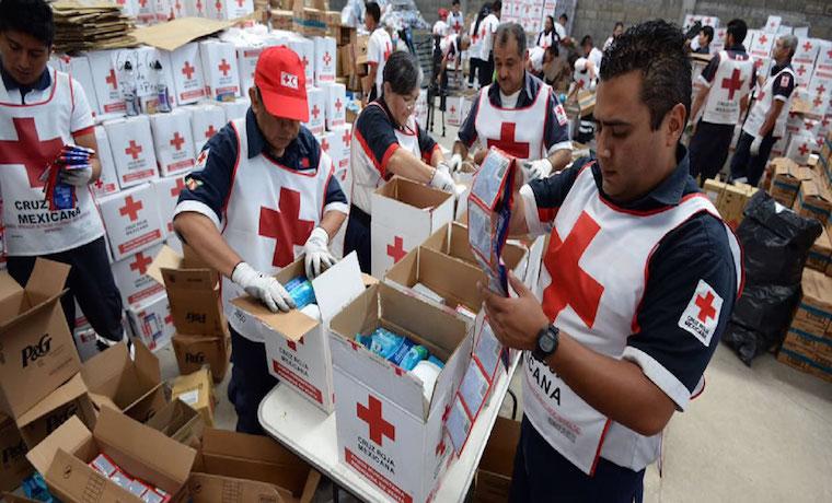 LLEGA CRUZ ROJA MEXICANA CON AYUDA HUMANITARIA A VENEZUELA