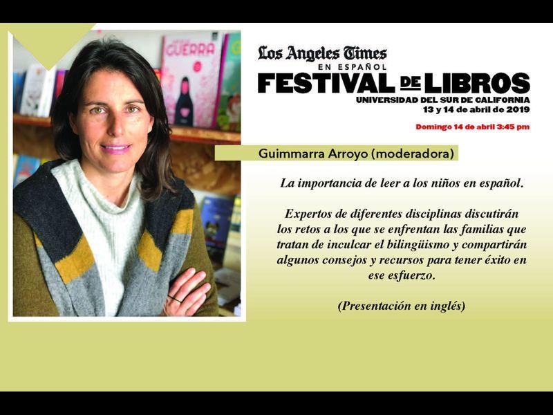 FESTIVAL DEL LIBRO EN ESPAÑOL.Organizado por el periodico Los Angeles Times en UNiversidad del Sur de California