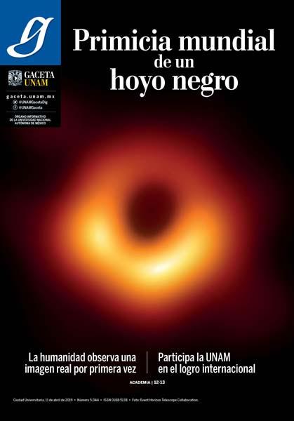 """PARTICIPARON ESTUDIOSOS DEL ESPACIO DE LA UNAM EN UBICAR """"HOYO NEGRO"""""""