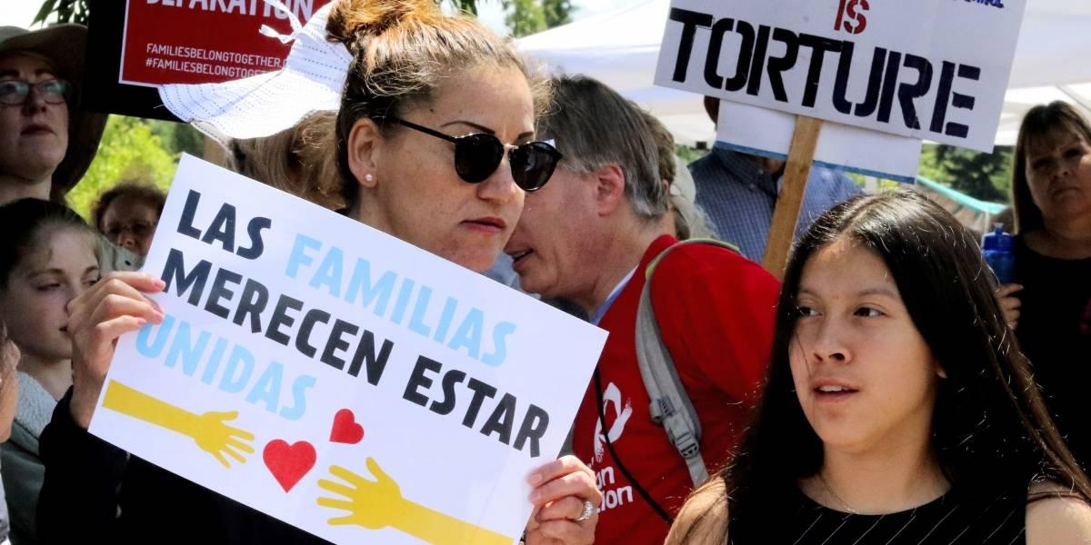 """ESTADOS UNIDOS DA PRIORIDAD EN ATENCIÓN A FAMILIAS MIGRANTES. A un año de """"Cero Tolerancia"""" de Trump"""