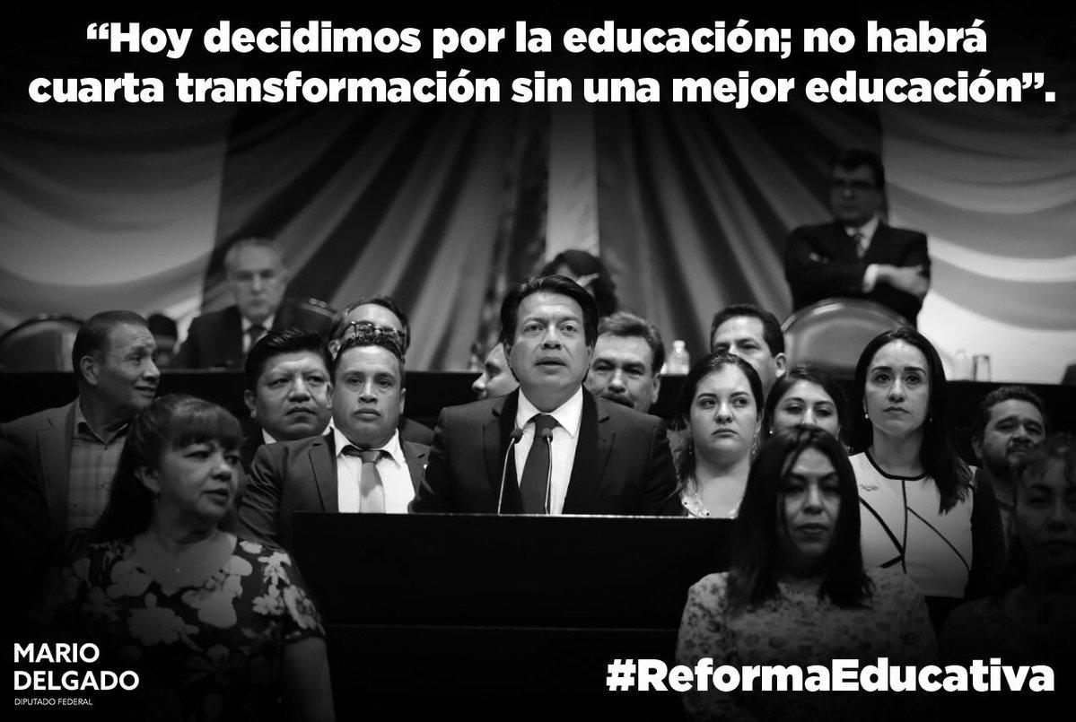 PLENO DE CÁMARA FEDERAL  APRUEBA REFORMA DE LA REFORMA EDUCATIVA.