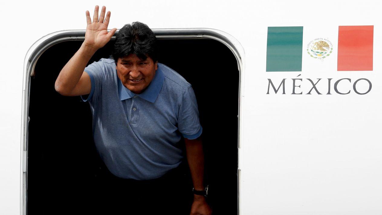 LLEGA ASILADO EN MEXICO EL EX PRESIDENTE DE BOLIVIA,EVO MORALES