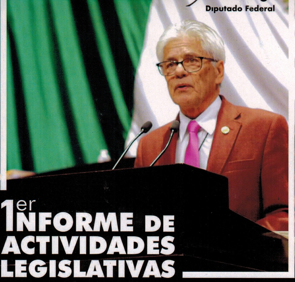 INFORME DE ACTIVIDADES DEL DIPUTADO FEDERAL,POR MORENA,MARIO I. MORENO GIL