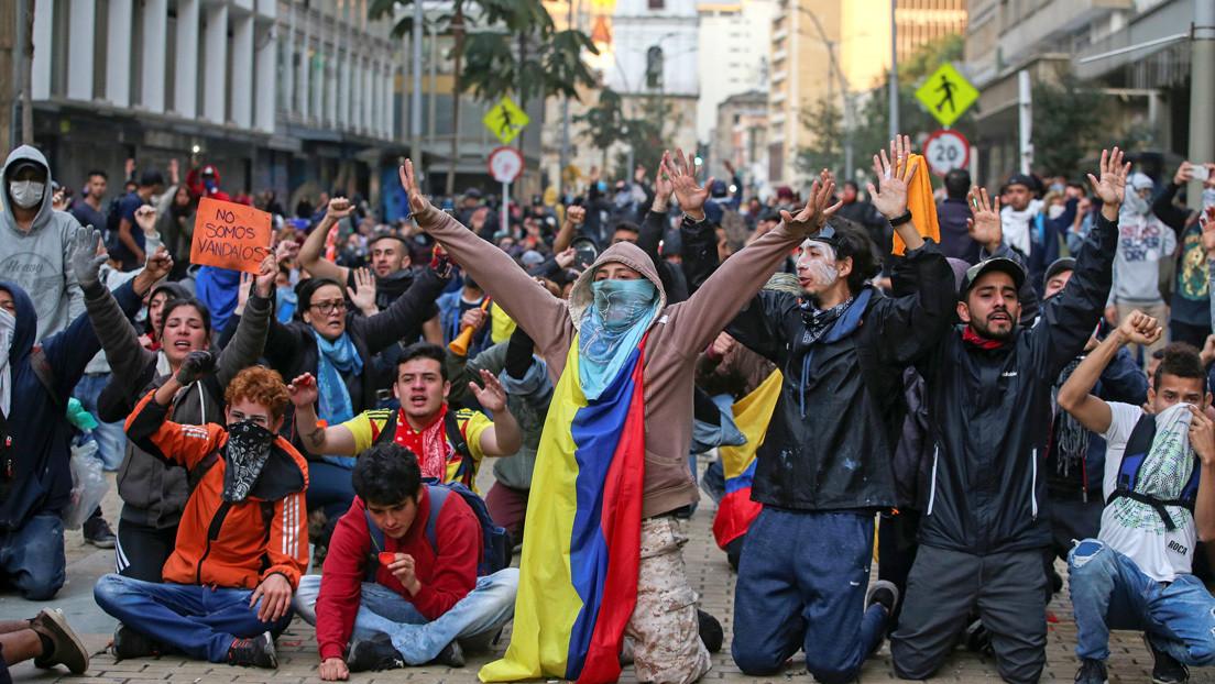 SINDICATOS DE COLOMBIA COMVOCAN A HUELGA NACIONAL
