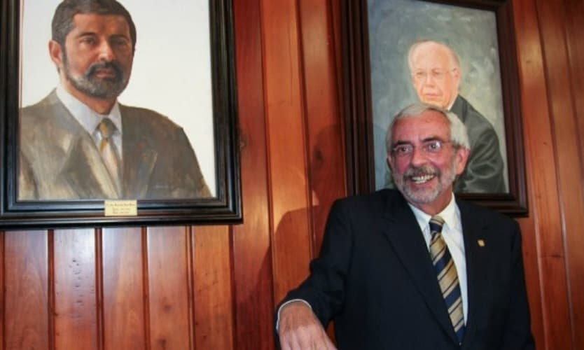 ENRIQUE LUIS GRAUE WIECHERS, FUE REELECTO RECTOR DE LA UNAM