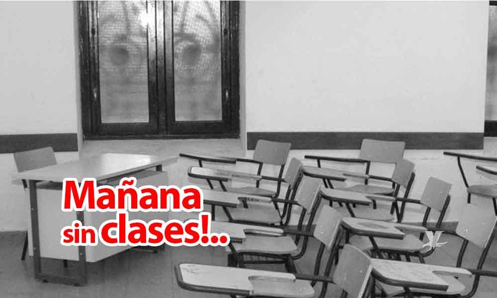 SUSPENDEN CLASES EN TODOS LOS NIVELES,EL JUEVES,POR PRONÓSTICO DE LLUVIA