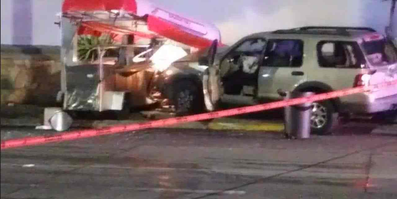 ASESINAN A POLICÍA MUNICIPAL EN TECATE. Le meten fuego a cinco casas de cambio en Tijuana