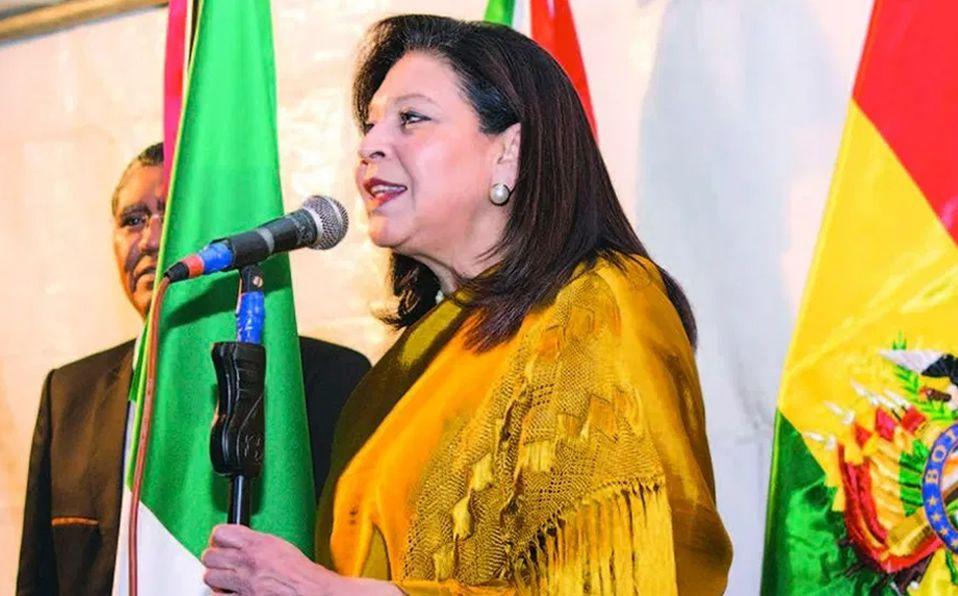 EXPULSAN A EMBAJADORA DE MÉXICO EN BOLIVIA. Violó el Convenio de Viena,asegura presidenta