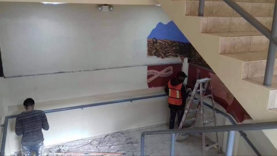 GOBIERNO DE MORENA EN PLAYAS DE ROSARITO BORRA MURAL DE CULTURA KUMIAI