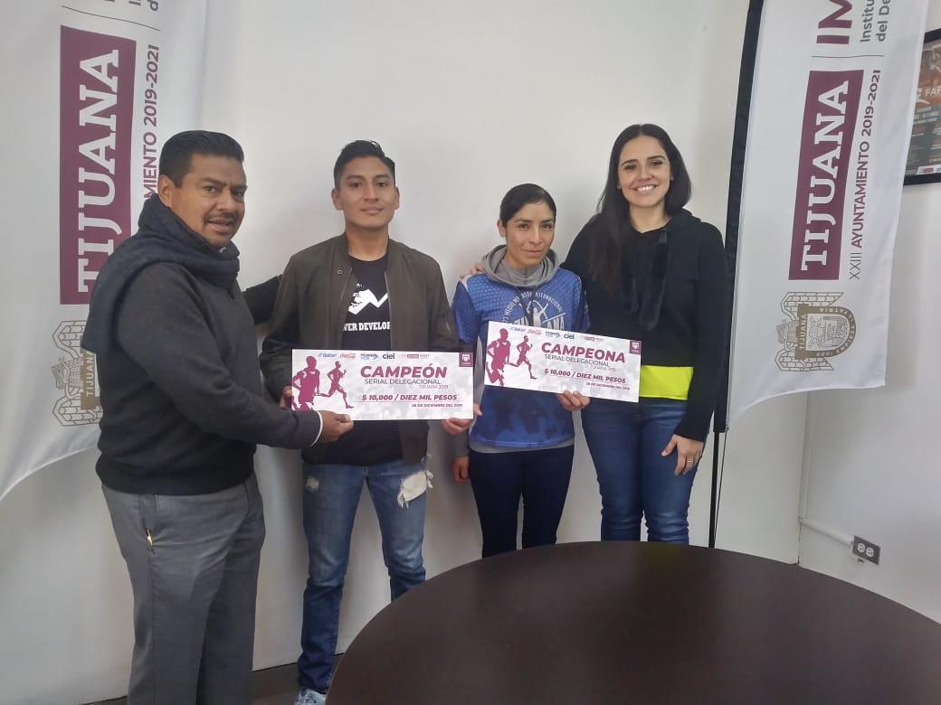 Entrega Imdet premio a campeones del Serial Atlético Delegacional 2019