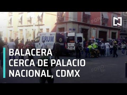CINCO MUERTOS EN BALACERA EN CENTRO HISTÓRCIO DE CIUDAD DE MÉXICO