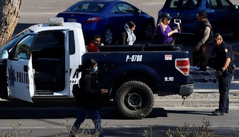 """EL PELIGROSO """"CARTEL DE LA LÍNEA"""".Piden a automovilistas no enfrentarlos"""