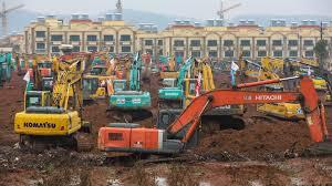 """CHINA CONSTRUYE UN HOSPITAL PARA ENFERMOS DE CORONAVIRUS """"WUHAN"""""""
