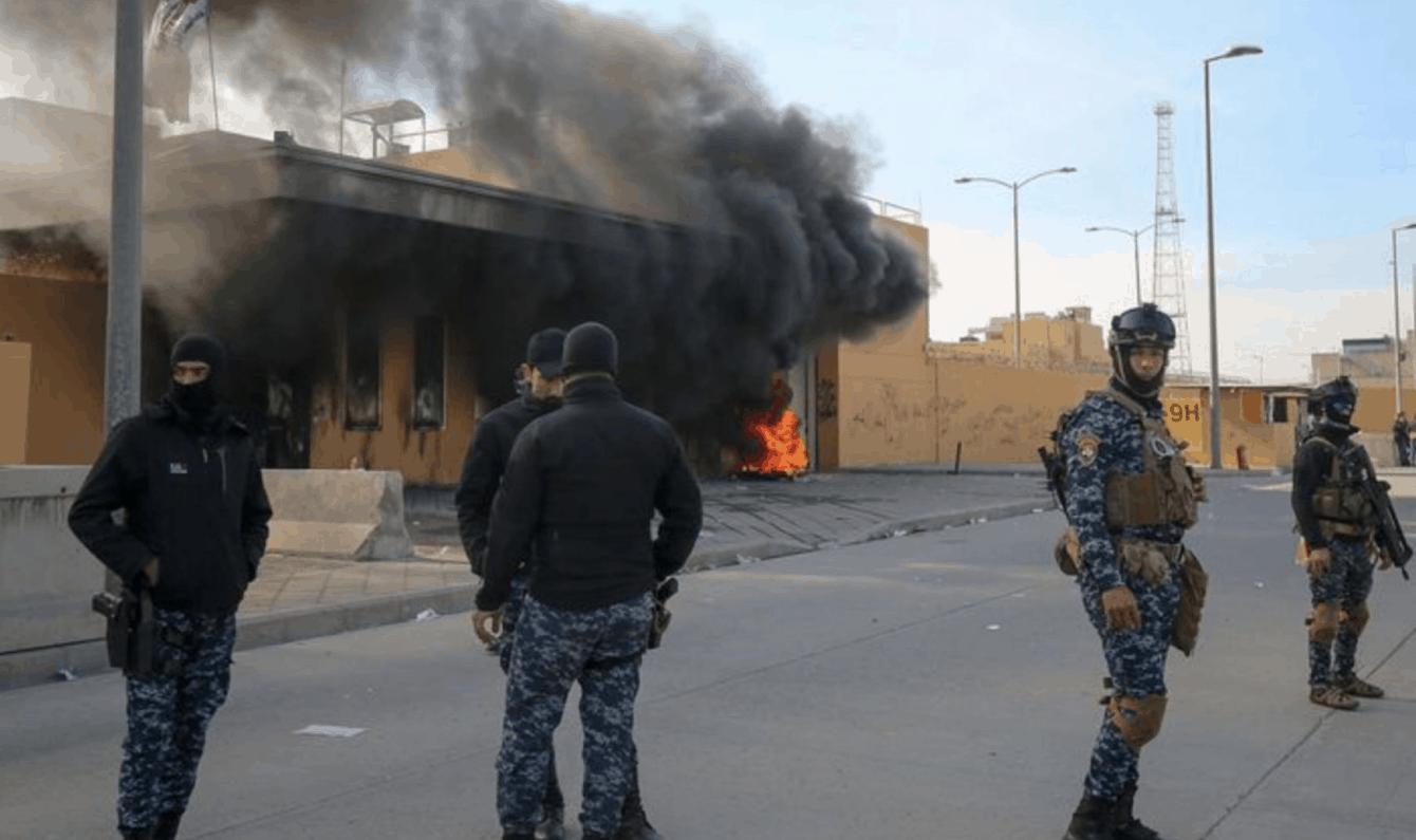 ATACAN CON MISILES EMBAJADA DE ESTADOS UNIDOS EN IRAK.No hay víctimas