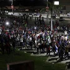 VIENE CARAVANA DE DOS MIL MIGRANTES HACIA MÉXICO Y E.U. DESDE HONDURAS.Video
