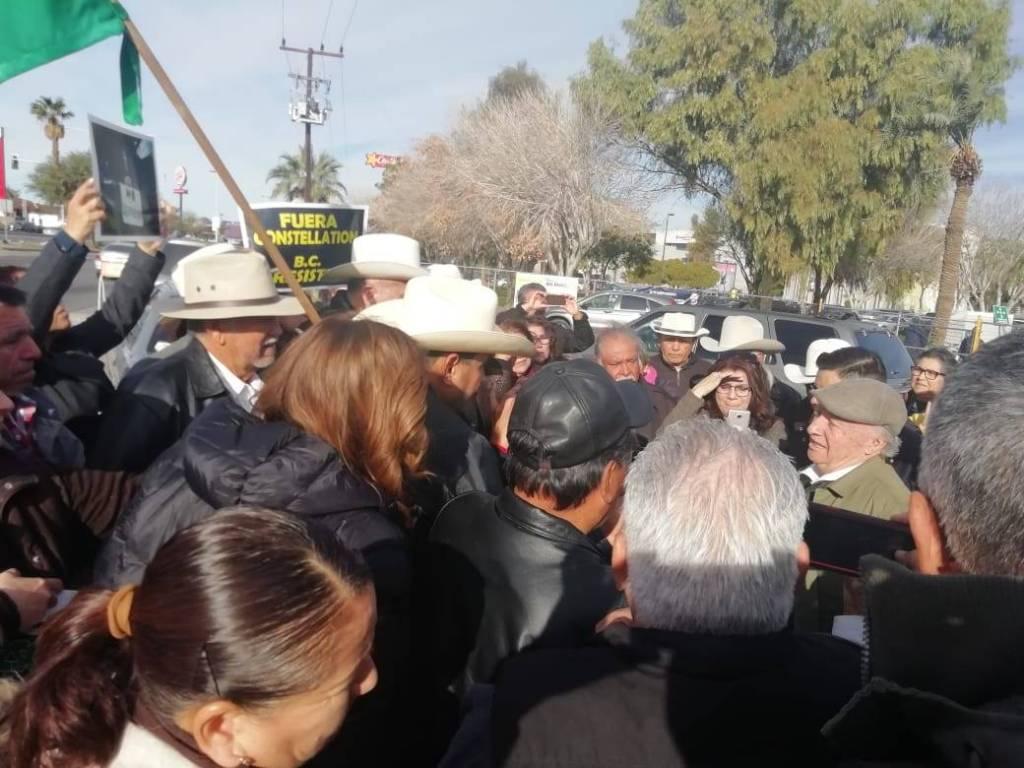 SEMARNAT Y CONAGUA DAN VISTO BUENO A CONSTELLATION.Protestan por decisión