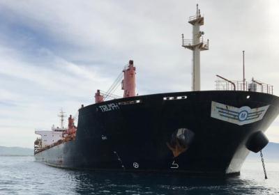 Riesgo de Desastre ambiental del Buque Triumph,anclado en playas de Ensenada