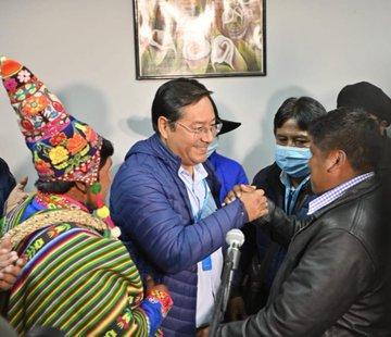 LUIS ARCE, CANDIDATO DE EVO MORALES, GANA PRESIDENCIA DE BOLIVIA