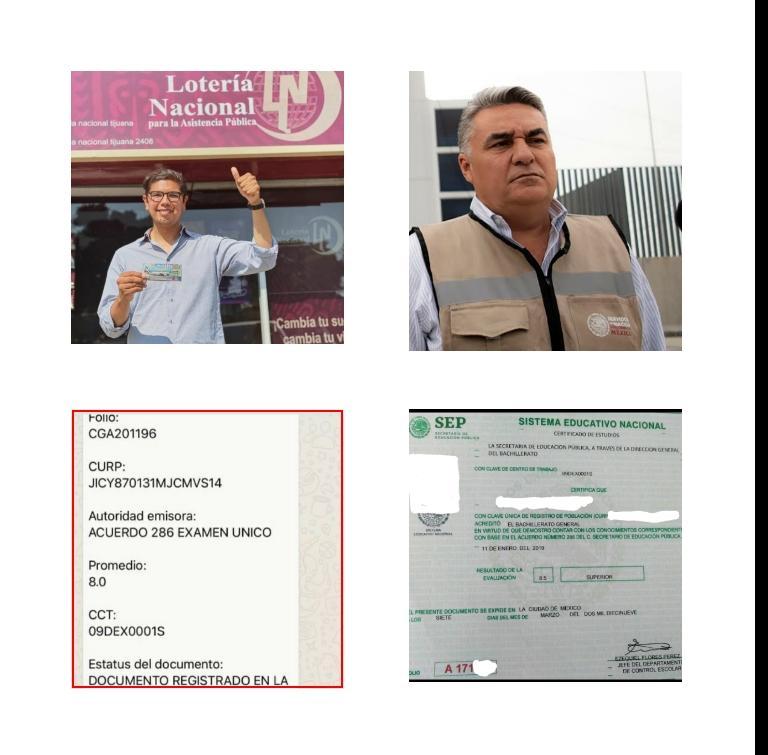 VENDEN CERTIFICADOS DE PREPARATORIA EN  BIENESTAR SOCIAL_TIJUANA.Por Alfredo Calva