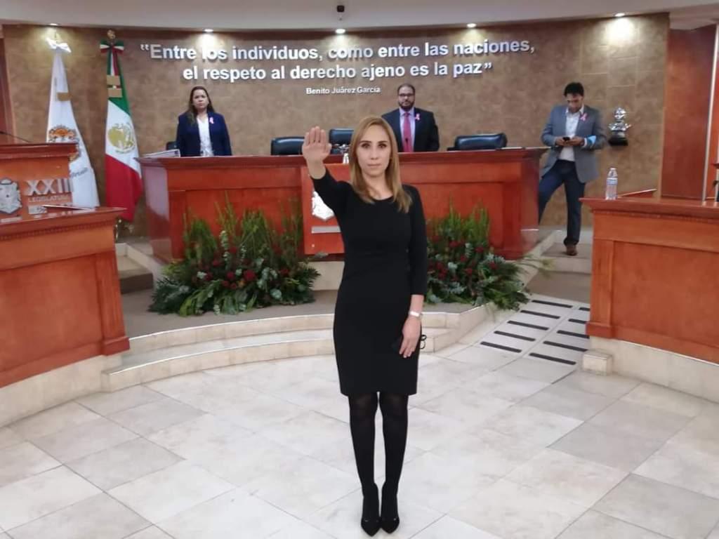 LA PEOR EVALUADA, ES AHORA MAGISTRADA. Cinthya Estrada Burciaga