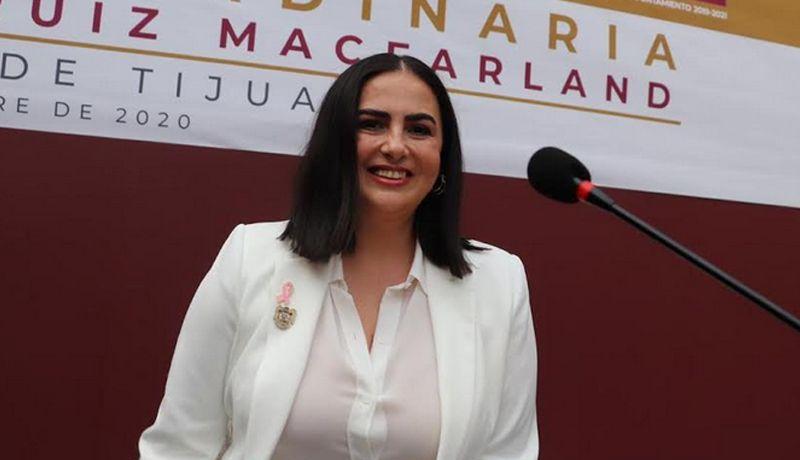 TOMA PROTESTA NUEVA ALCALDESA DE TIJUANA.Karla Patricia Ruiz Macfarland