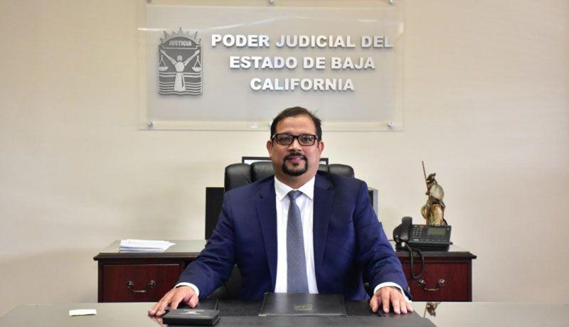 HAY NUEVO PRESIDENTE DEL TRIBUNAL SUPERIOR DE JUSTICIA DE BAJA CALIFORNIA.Alejandro Fragozo