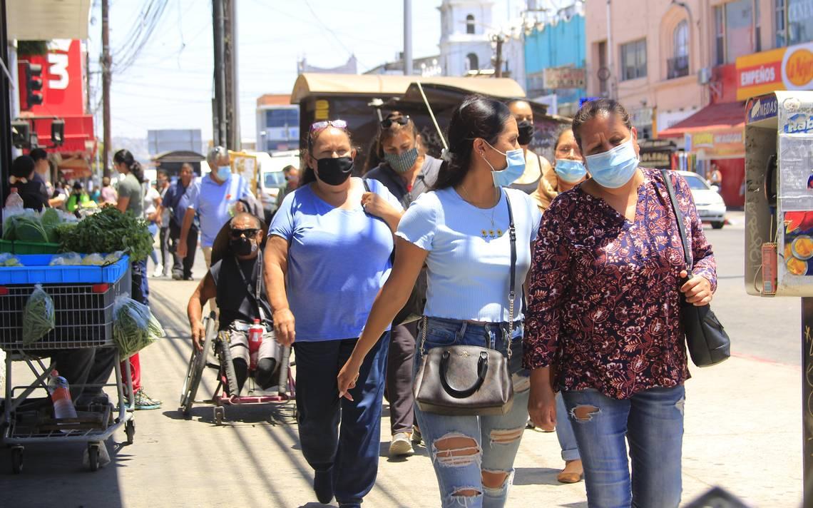 CORONAVIRUS:COLONIAS DE TIJUANA CON MÁS CONTAGIADOS.913 muertos en un día en todo el país