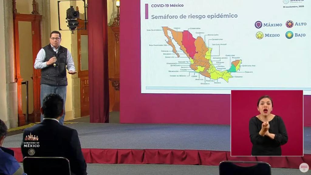 CORONAVIRUS: LLEGA MÉXICO A UN MILLÓN 41 MIL 875 CONTAGIOS ACUMULADOS