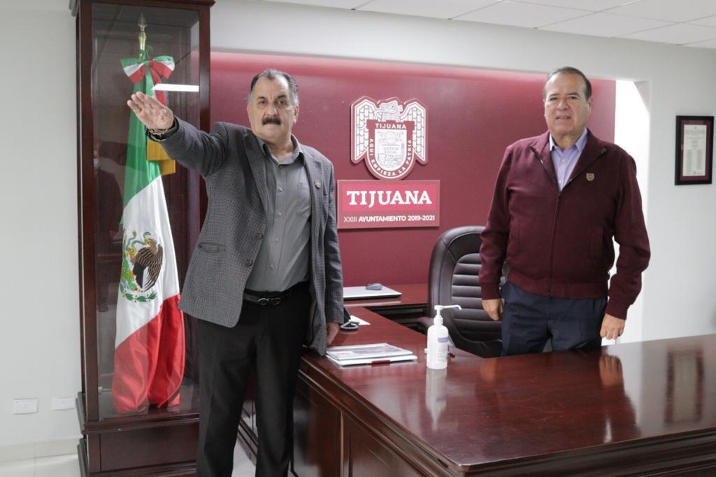TOMAN PROTESTA A NUEVO TITULAR DE MOVILIDAD URBANA SUSTENTABLE