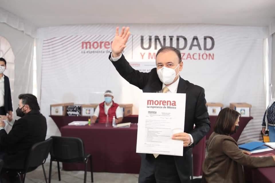 SOLICITAN REGISTRO PARA GOBERNADOR 150 MILITANTES DE MORENA