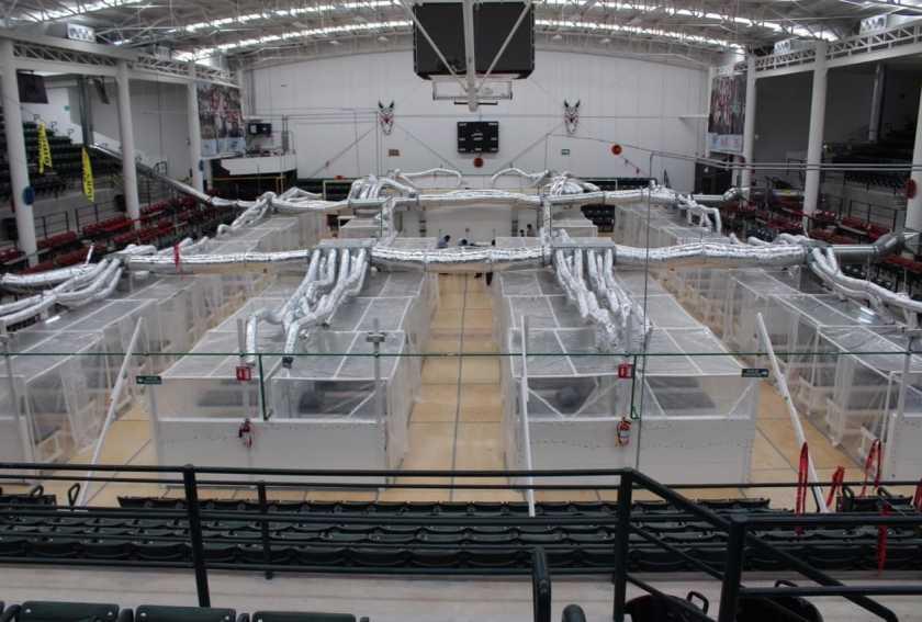 Reabrirán estadio de Zonkeys para pacientes de COVID-19 en Tijuana